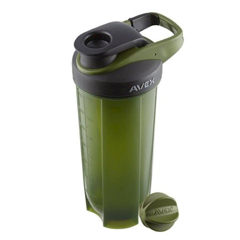Şeyker Avex AV1000-0828-1 Shaker Bottle, yaşıl, plastik, 0.828 l