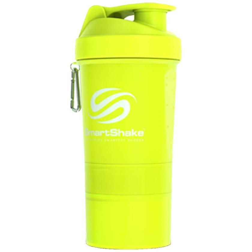 Şeyker Smartshake 10560301 -1 Shaker Bottle Original2Go, sarı, plastik, 0.6 l