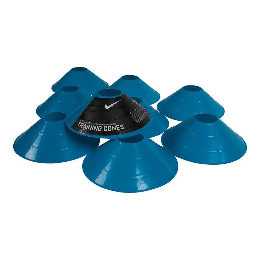 Məşq konusları Nike 10 Pack Training Cones Blue, Diametr 7.55 düym 10 əd