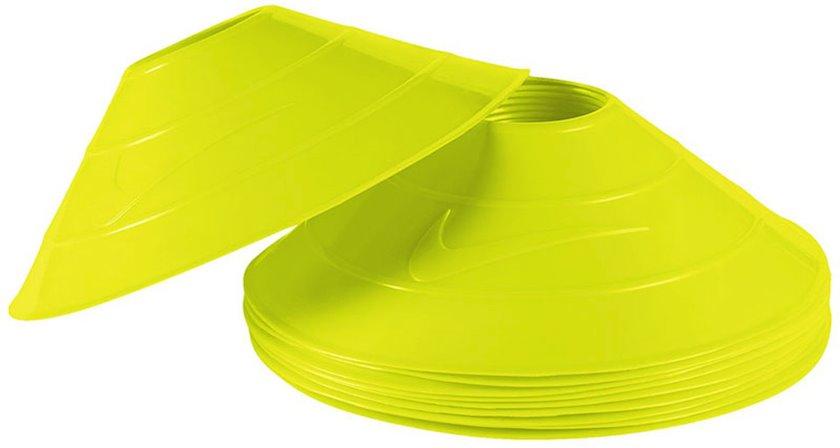 Məşq konusları Nike 10 Pack Training Cones Yellow, Diametr 7.55 düym 10 əd