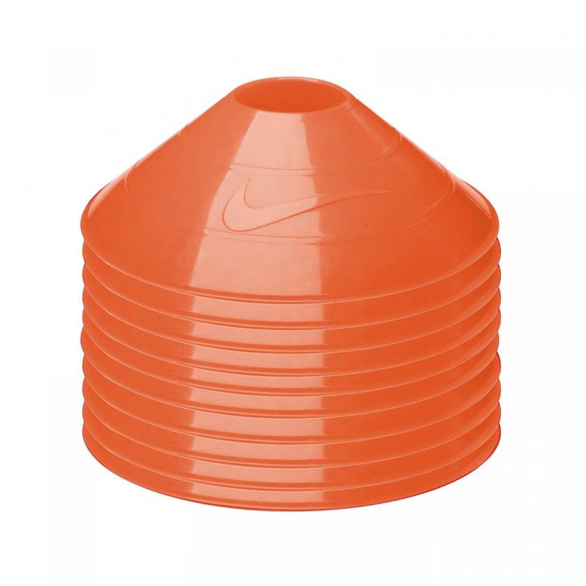 Məşq konusları Nike 10 Pack Training Cones Orange, Diametr 7.55 düym 10 əd