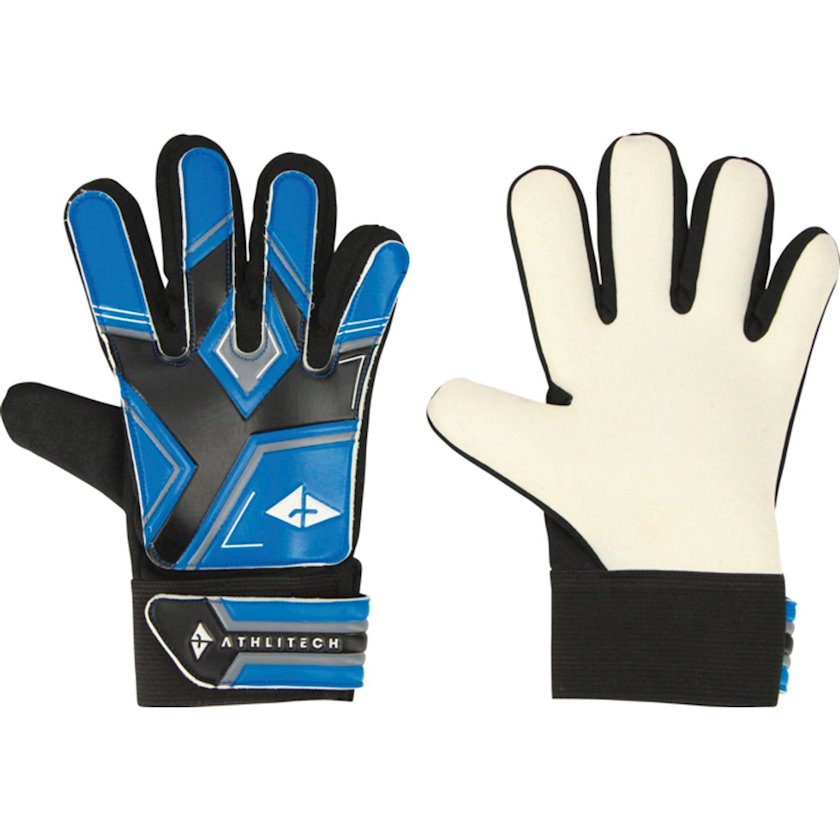 Qapıçı əlcəkləri Athli-Tech Glove Keeper 2 JR Gloves, Uşaqlar üçün, Mavi, Ölçü 4