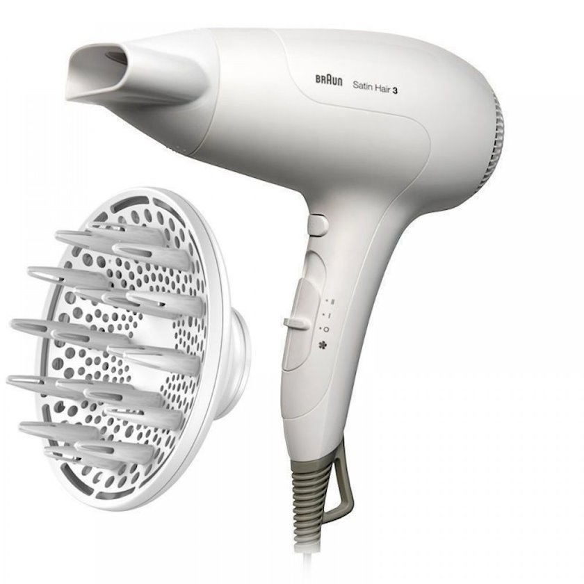 Fen Braun Satin Hair 3 PowerPerfection HD385 Ağ