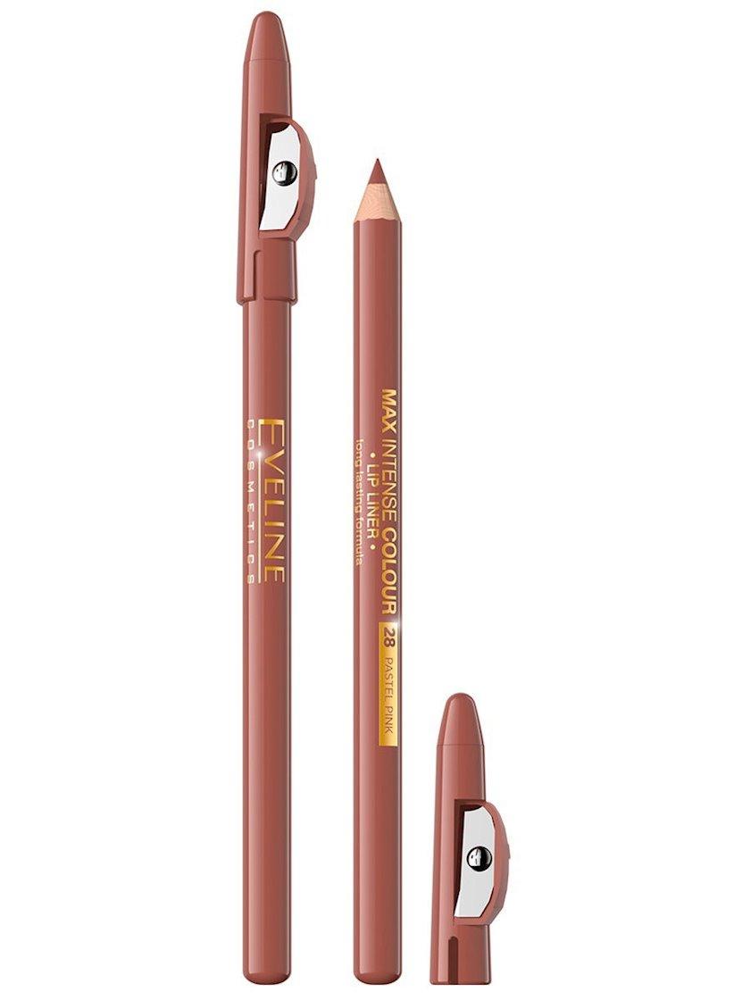 Dodaq qələmi Eveline Max Intense Colour 28 Pastel Pink 1.2 q