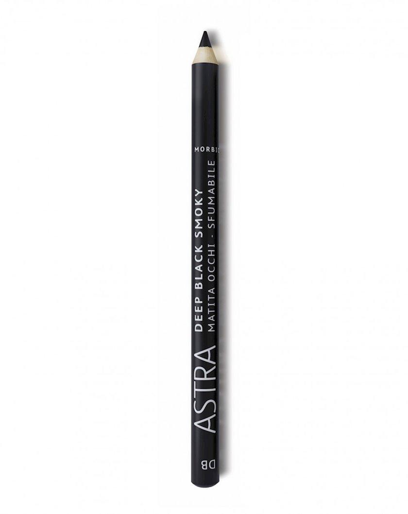 Göz üçün qələm Astra Make-Up Deep Black Smoky DB Deep Black 1.2 q