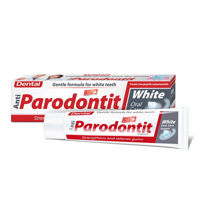 Diş məcunu Dental Antiparodontit White 100 ml