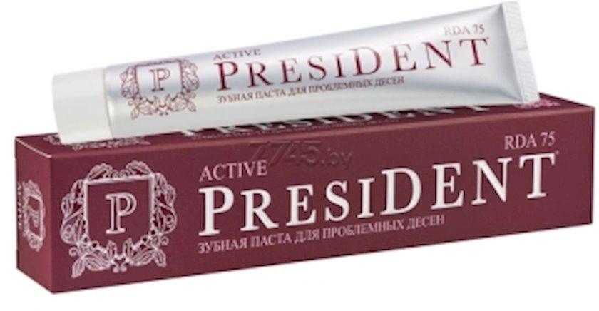 Diş məcunu President Active 75 ml