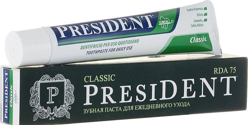 Diş məcunu President Classic 75 ml