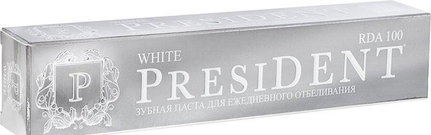 Diş məcunu President White 75 ml