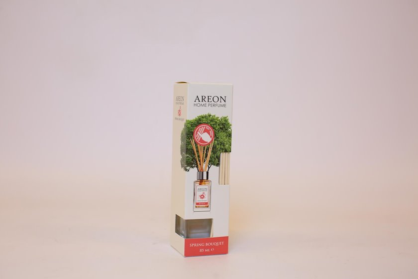 Ətirli çubuqlar Areon Home Perfume Lilac, Yasəmən Şüşə, Şəffaf, 85 ml