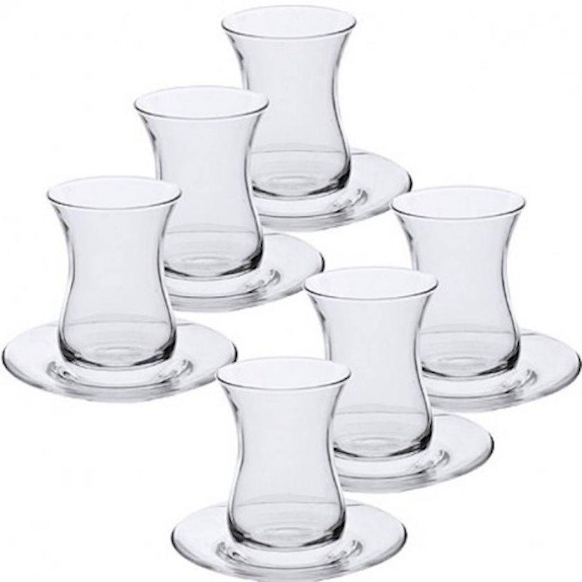 Çay dəsti Paşabahçe 6 əd