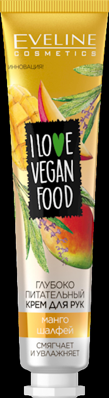 Əl kremi Eveline I Love Vegan Food Mango&Salvia 50 ml