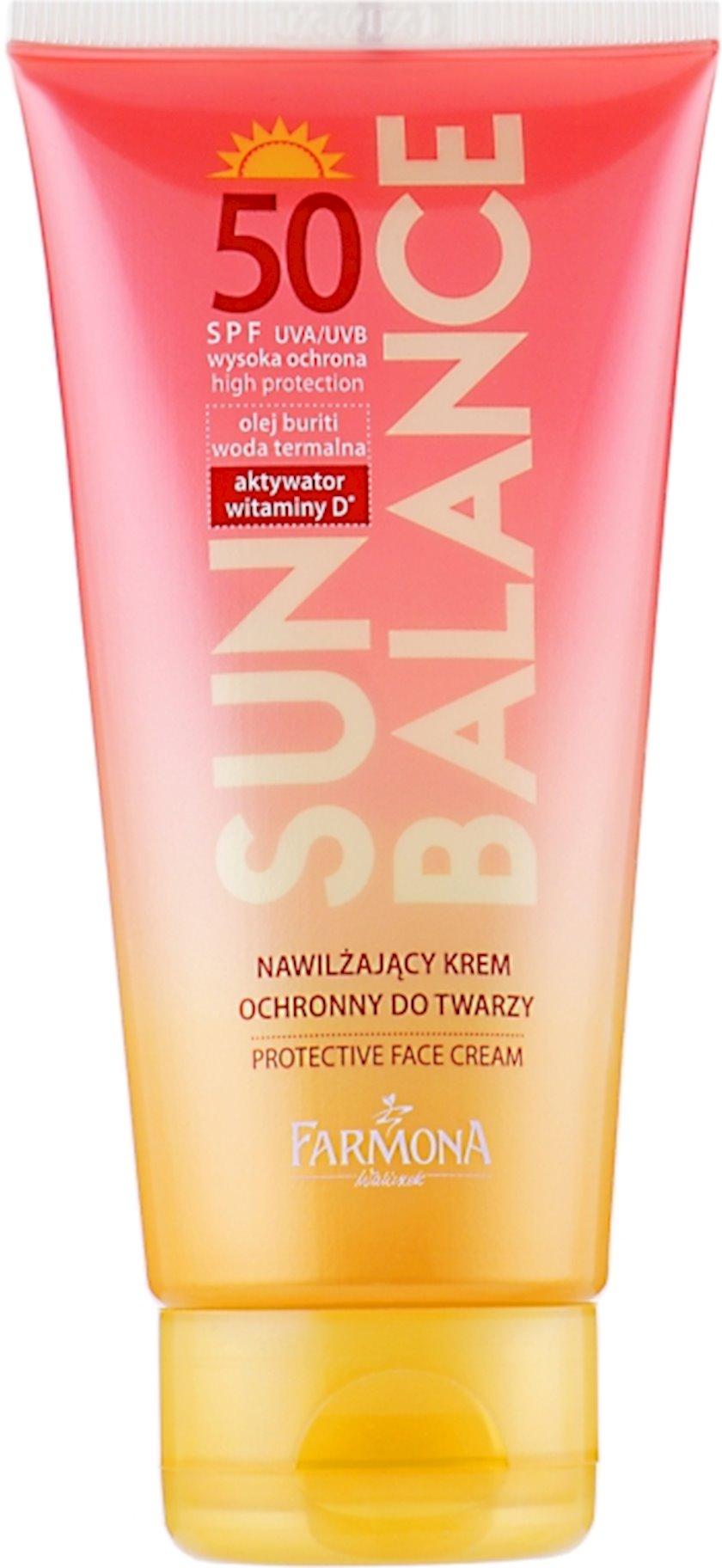 Günəşdən qoruyucu krem Farmona Sun Balance Cream SPF50 50 ml