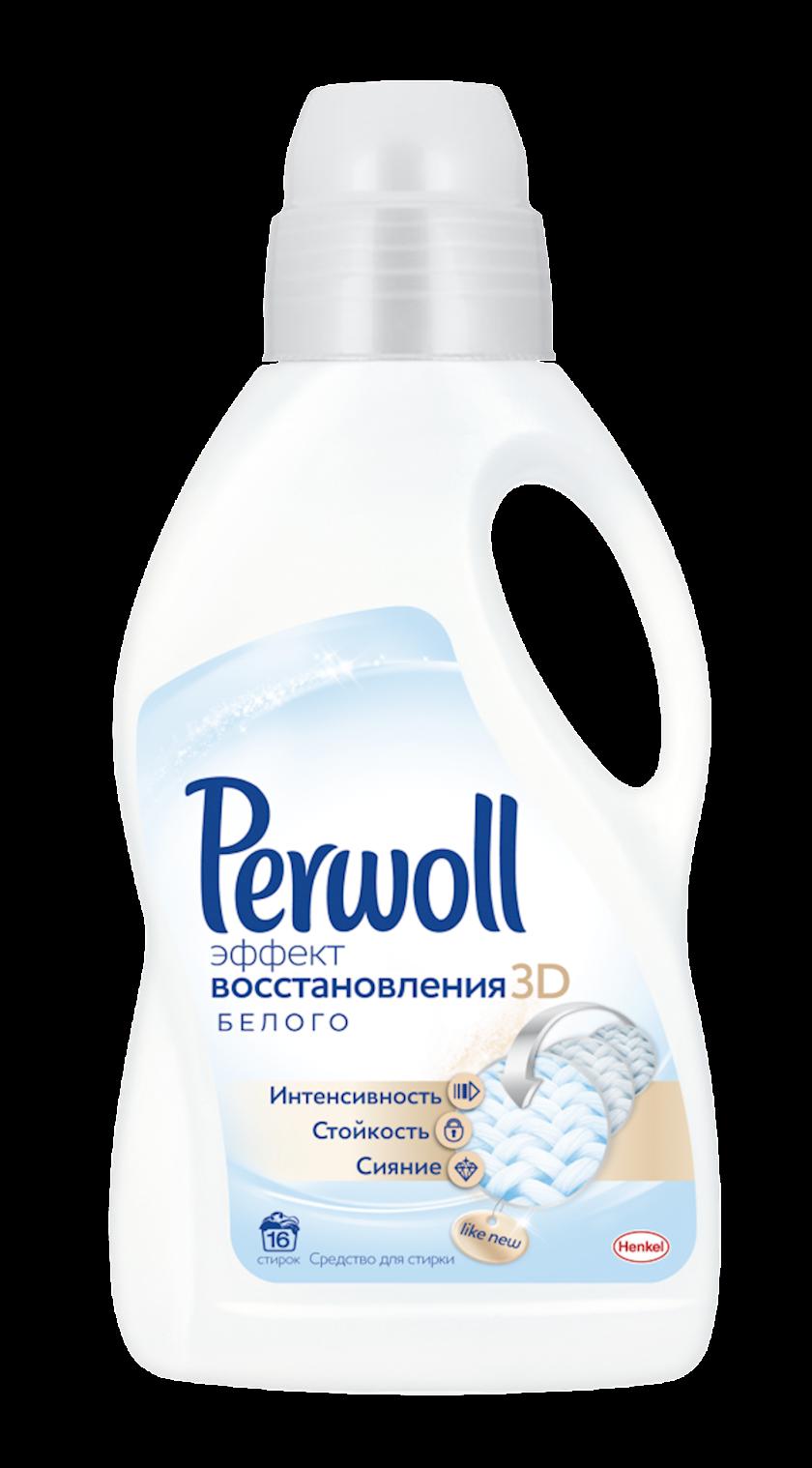 Paltar yumaq üçün gel Perwoll Ağ üçün Bərpa effekti 1l 15 yuma