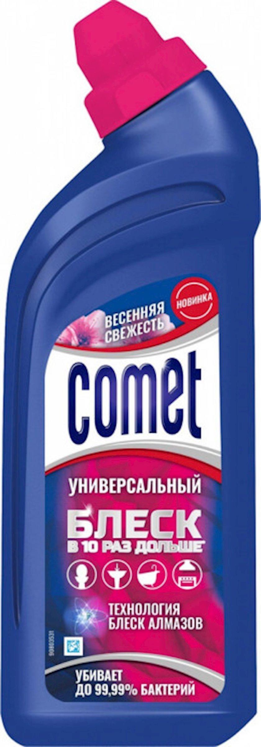 Universal təmizləyici gel Comet bahar təravəti, 450 ml