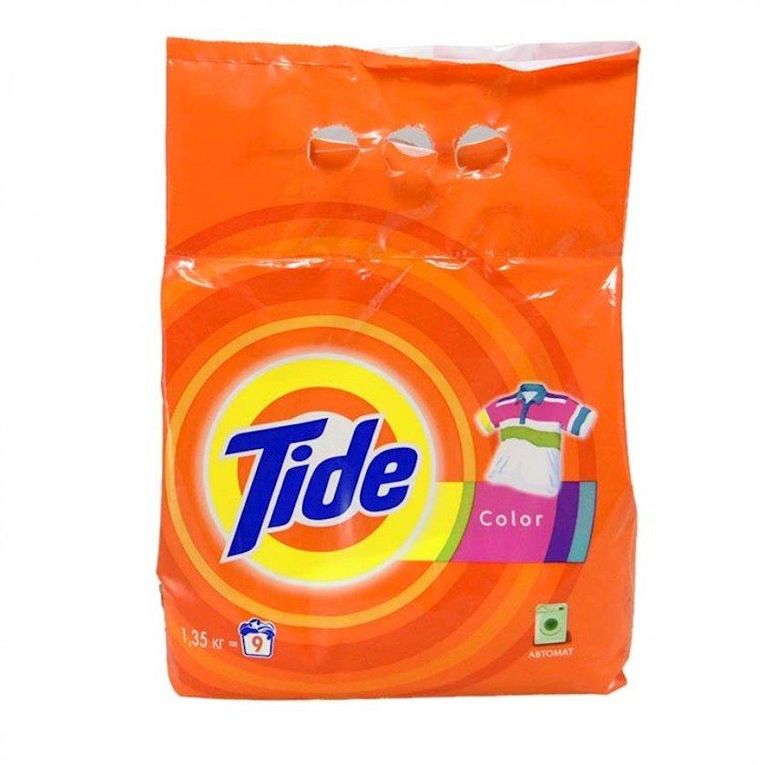 Yuyucu toz Tide, rəngli paltar üçün, avtomat, 1.35kq