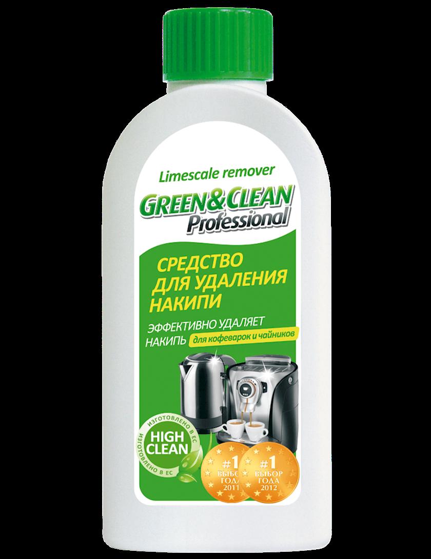 Çaydanların ərpdən təmizlənməsi üçün vasitə Green&Clean Professional, 250ml