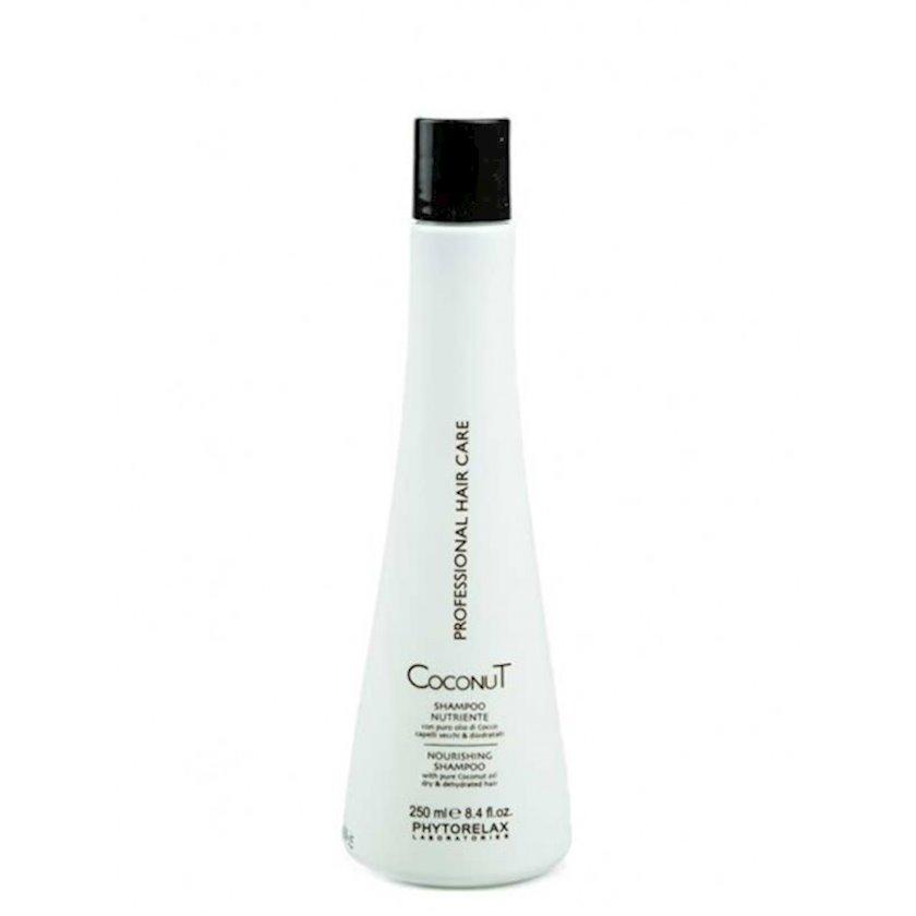 """Şampun Phytorelax """"Coconut oil hair care"""" Nəmləndirici Kokoslu 250 ml"""