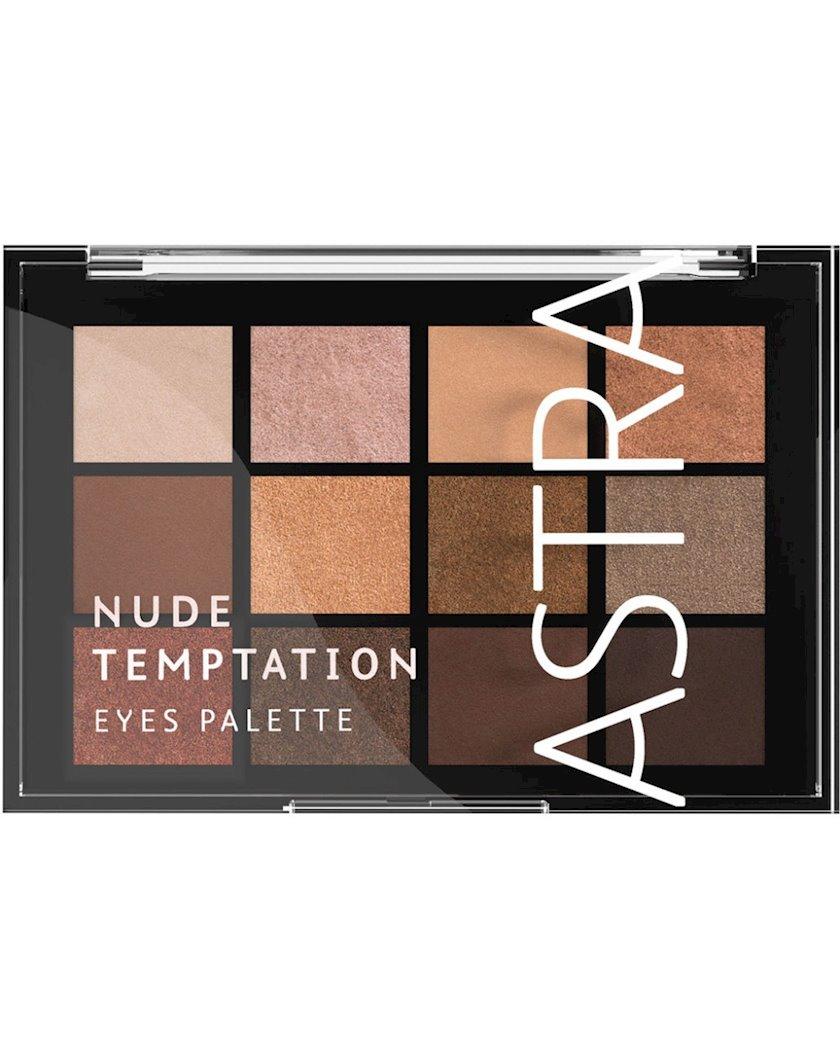 Göz kölgələri dəsti Astra Make-Up The Temptation Palette 01 Nude 15 q