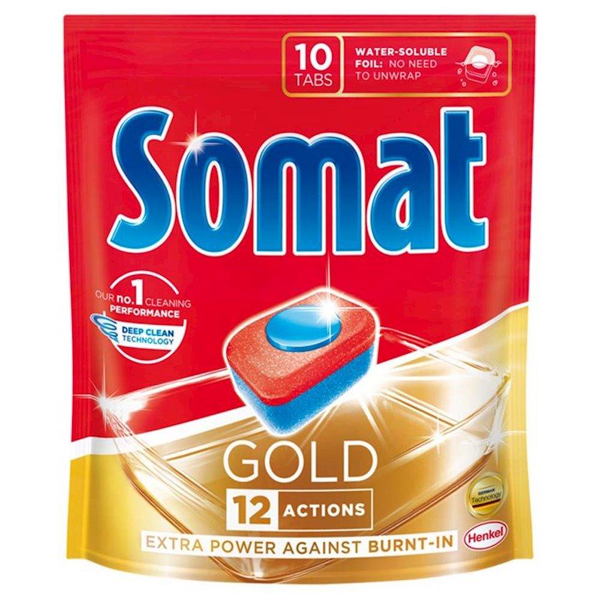 Qabyuyan maşın üçün həblər Somat Gold 10х19, 2, 10 əd