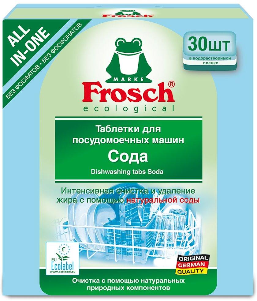 Qabyuyan maşın üçün həblər Frosch Soda, 30 əd