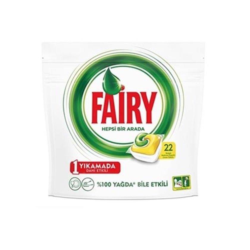 Qabyuyan maşın üçün həblər Fairy All in 1, 22 əd