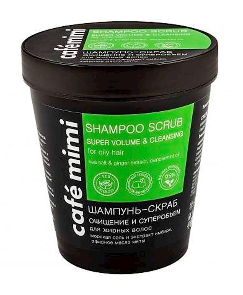 Şampun-skrab  Cafemimi  Təmizləmə və Super Həcm, 330 q