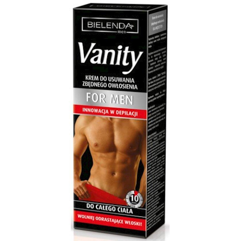 Kişilər üçün depilyasiya kremi bədən üçün Bielenda Vanity Laser Expert Depilatory Cream For Men 100 ml