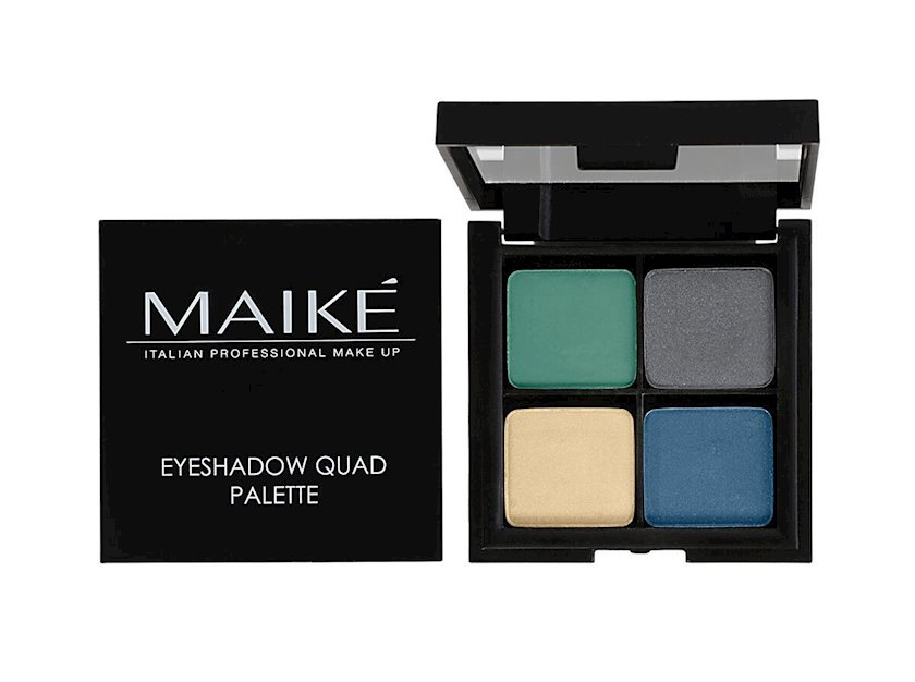 Göz kölgələri paleti Maike' Eyeshadow Quad Palette 01 Sea Breeze 8 q