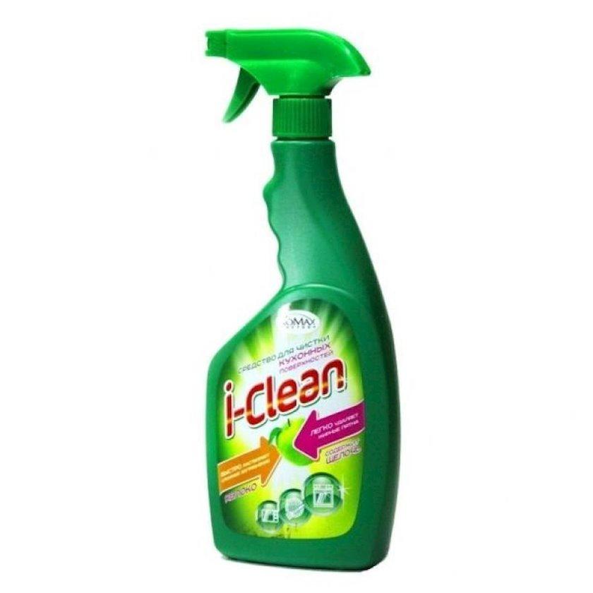 Средство для чистки кухонных поверхностей I-Clean Яблоко 500мл