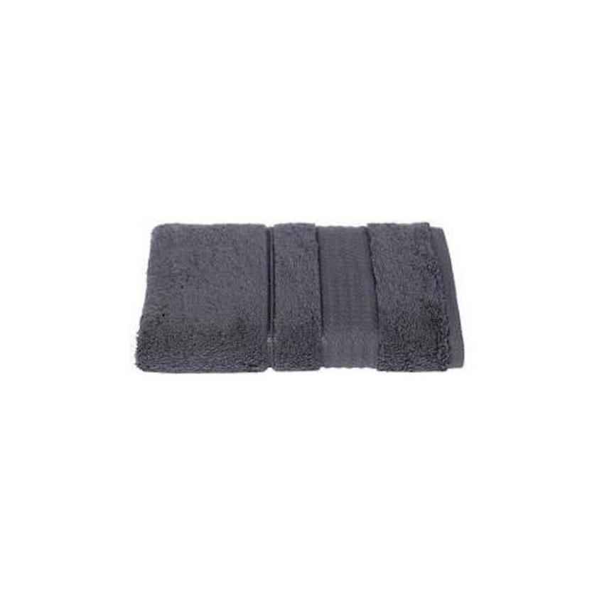 Dəsmal Ozdilek Trendy Dark Grey, Pambıq, Tünd boz, 30x30 sm