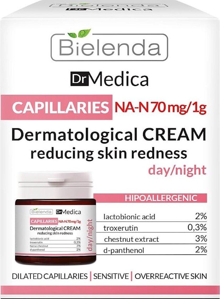 Dermatoloji üz kremi Bielenda Dr Medica Capillaries Dermatological Face Cream Reducing Skin Redness 50 ml