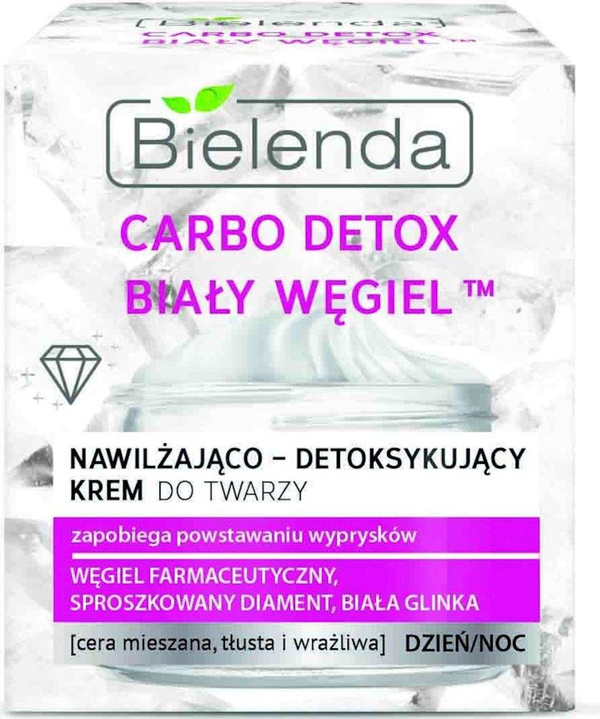 Üz kremi Bielenda White Carbon Detox Moisturising Face Cream 50 ml