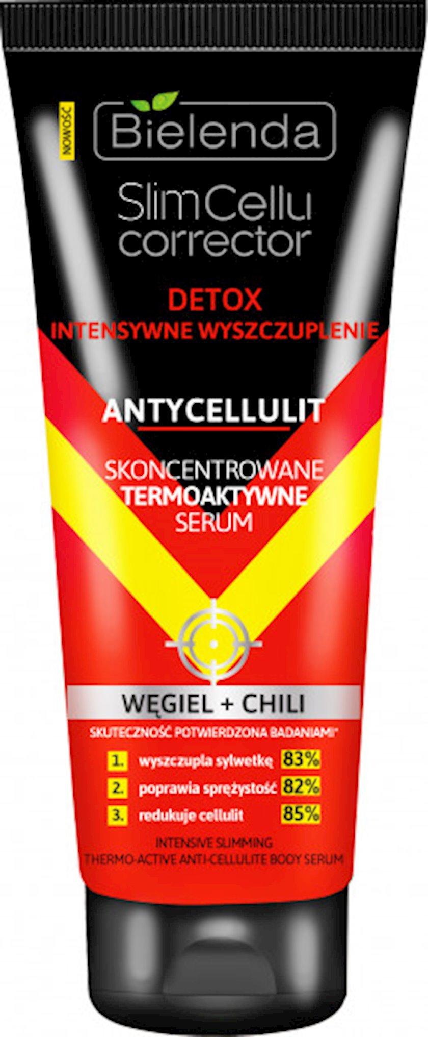 Serum Bielenda Slim Cellu Corrector Termoaktiv çili bibəri ilə 250 ml