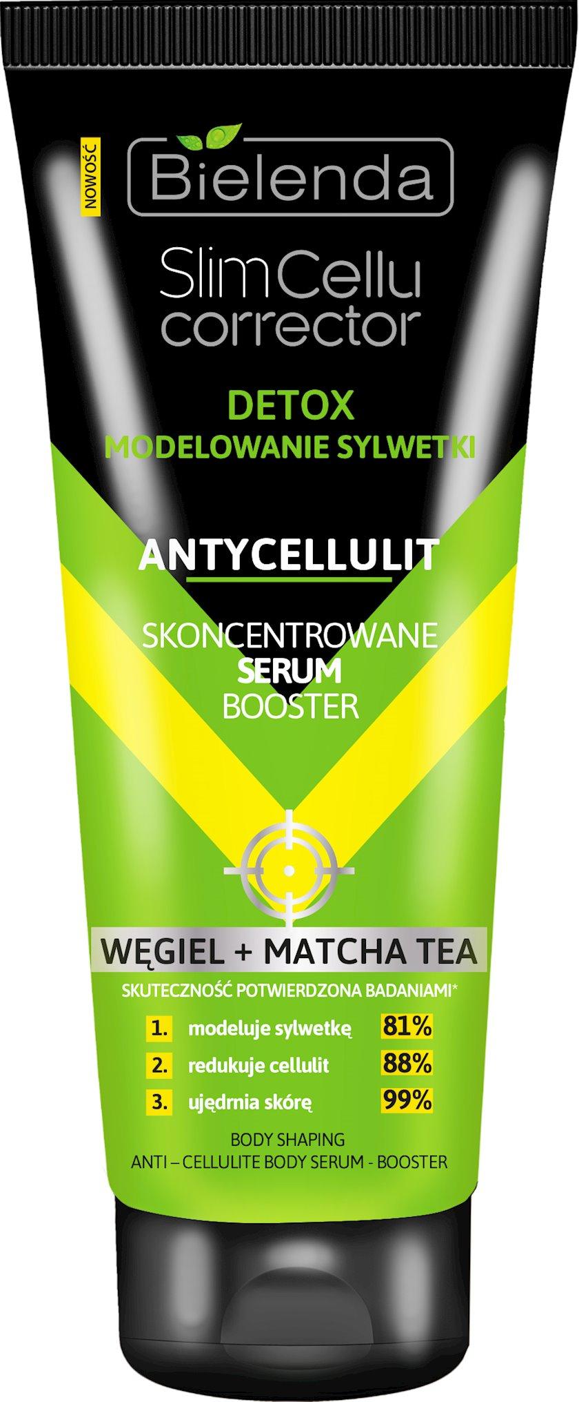 Serum Bielenda Slim Cellu Corrector Matcha Tea Detoksikasiya 250 ml