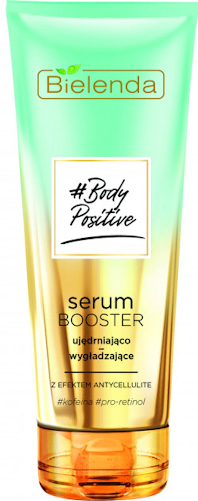 Serum Bielenda Body Positive Möhkəmləndirici və hamarlaşdırıcı antiselülit effekti ilə 250 ml