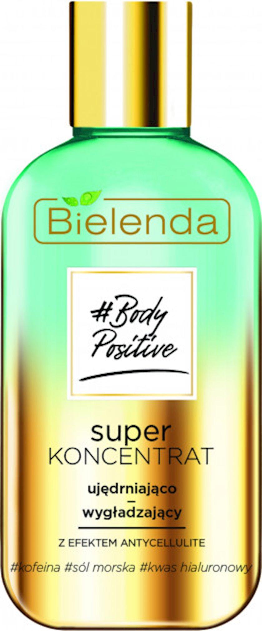 Superkonsentrat Bielenda Body Positive hamarlaşdırıcı serum antiselülit effekti ilə 250 ml