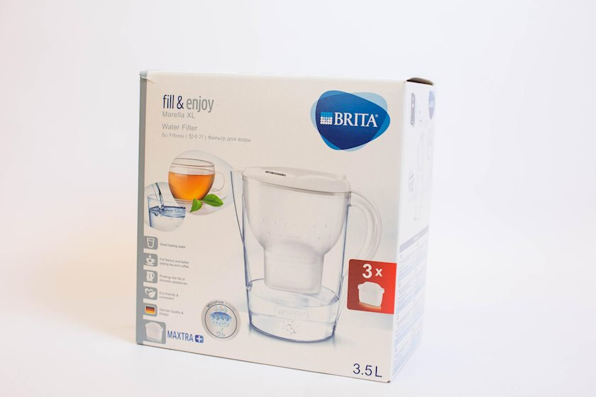Filtrli səhəng Brita Marella XL, 3.5l