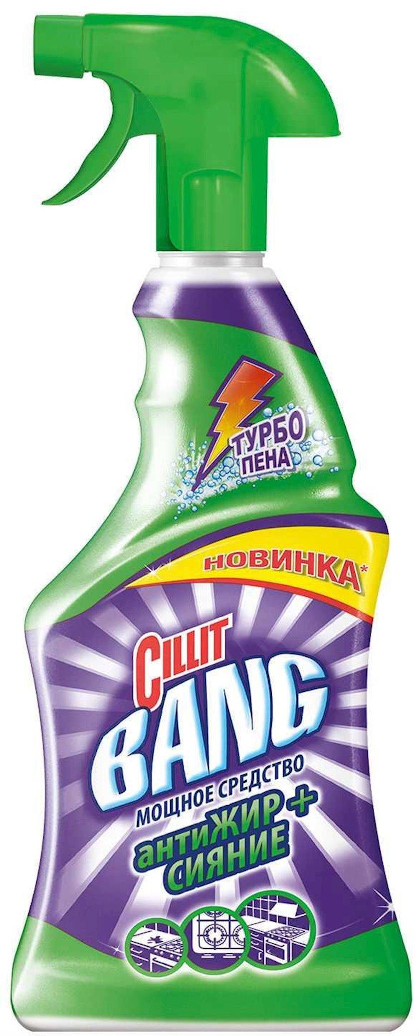 Чистящее средство для кухни Cillit Bang  Антижир+Сияние, Cпрей, 750 мл