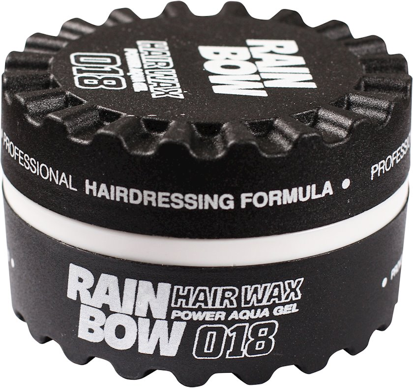 Fiksasiya edici mum Rainbow Professional Hair Wax Qara möhkəm fiksasiya 150 ml