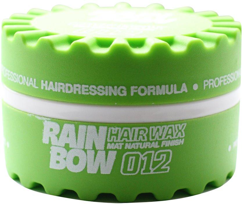Fiksasiya edici mum Rainbow Professional Hair Wax Yaşıl Mat 150 ml