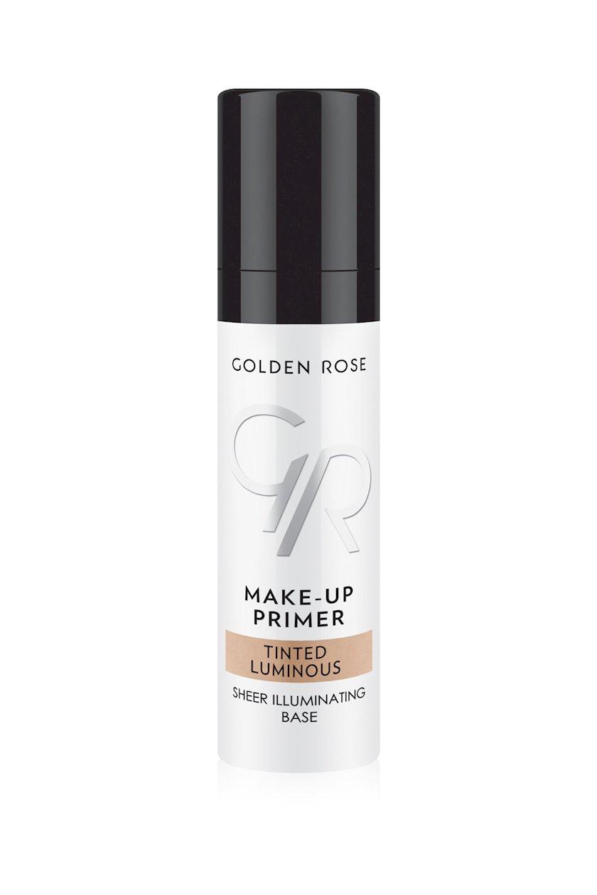 Praymer üz üçün Golden Rose Make-Up Primer Tinted Luminous 30 ml