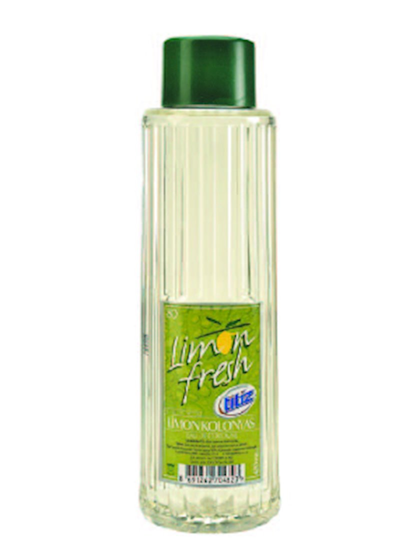 Dərini dezinfeksiya etmək üçün odekolon qutu Titiz Limon 200 ml