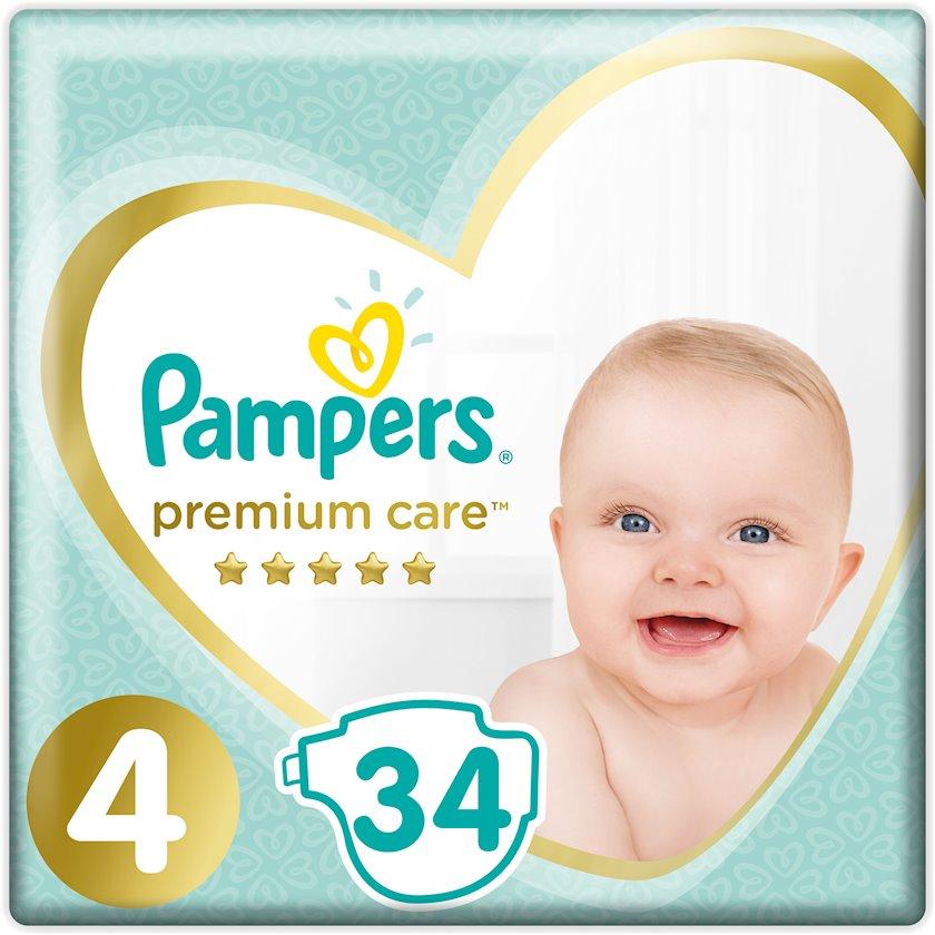 Uşaq bezi Pampers Premium Care №4 9-14 kq 34 əd