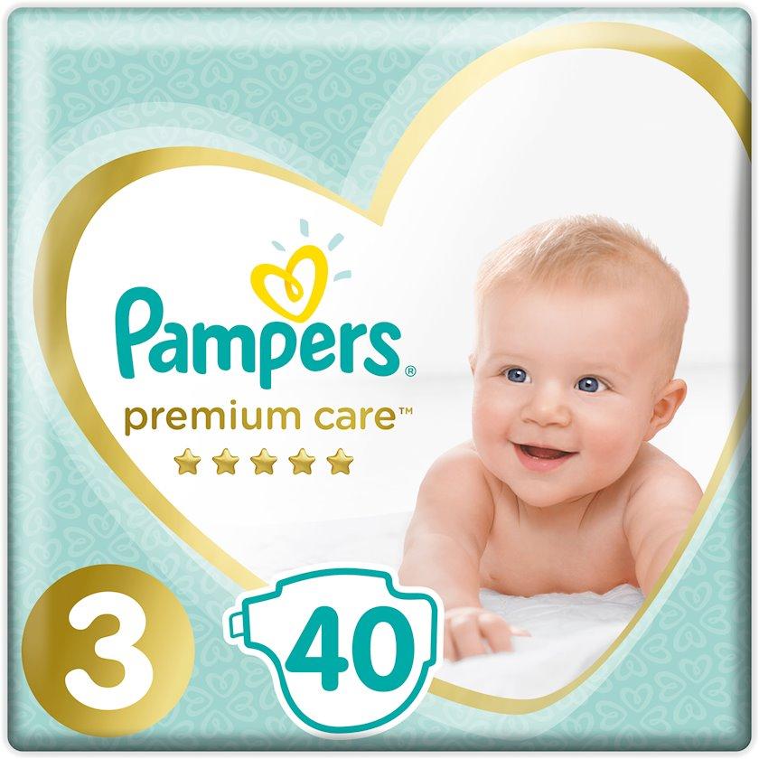 Uşaq bezi Pampers Premium Care №3 6-10 kq 40 əd