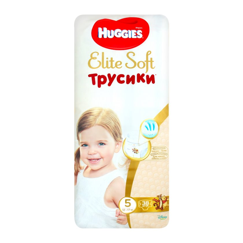 Uşaq bezi-tuman Huggies Elite Soft Pants №5 12-17 kq 38 əd