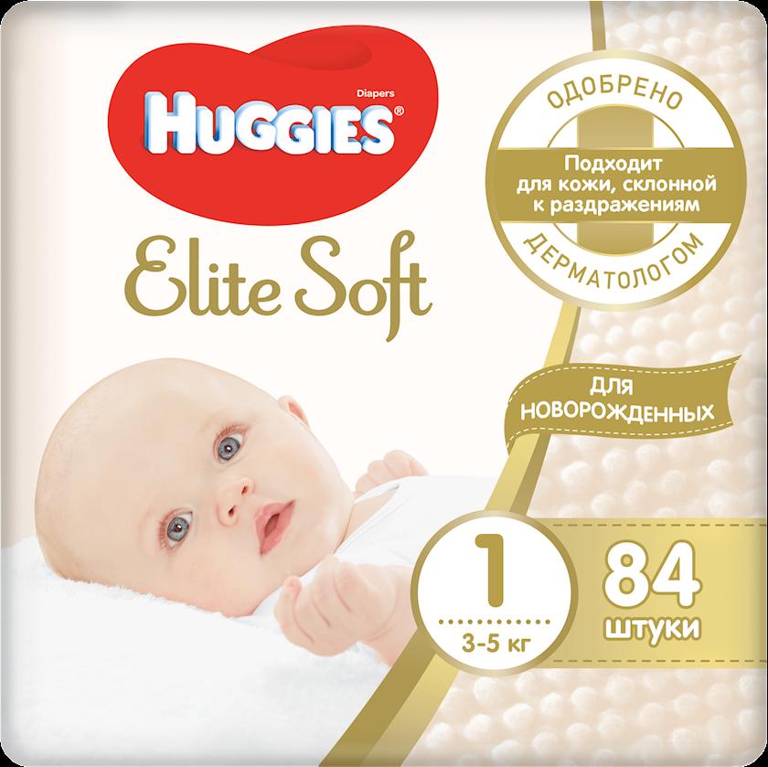 Uşaq bezi Huggies Elite Soft 1 3-5 kq 84 əd