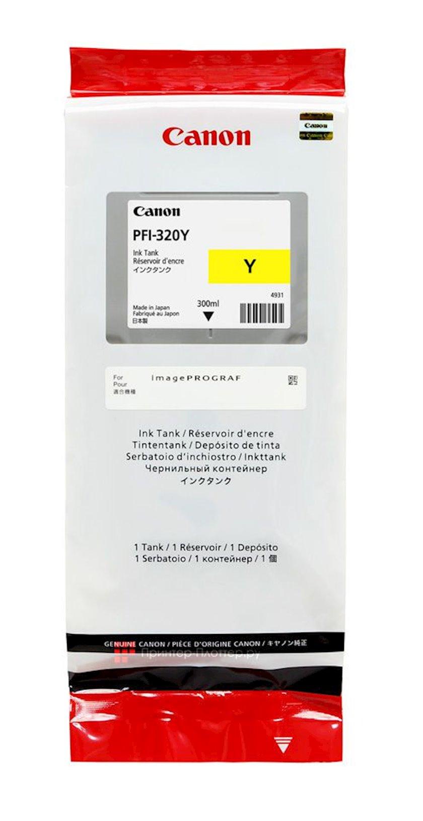 Mürəkkəb konteyneri Canon Ink Tank PFI-320 Yellow EMEA