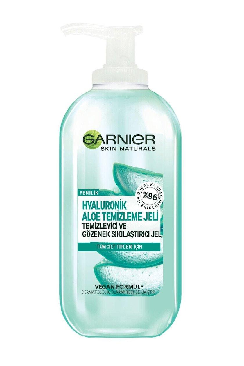 Gel-köpük yuma üçün Garnier Skin Naturals Gialuronlu Aloe 200 ml
