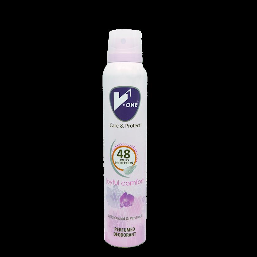 Dezodorant-sprey Joyful Comfort, V1 200 ml